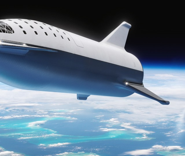 Spacex To Build Small Version Of Bfrs Spaceship For Use On Falcon
