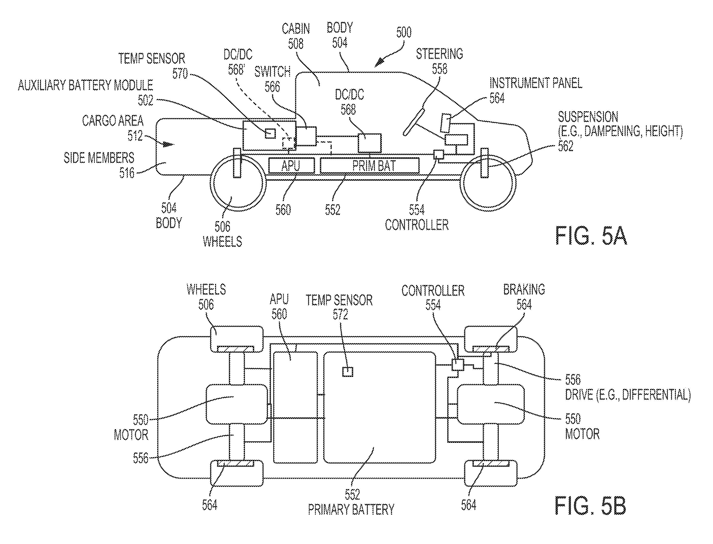 Rivian Aux Battery Patent 1