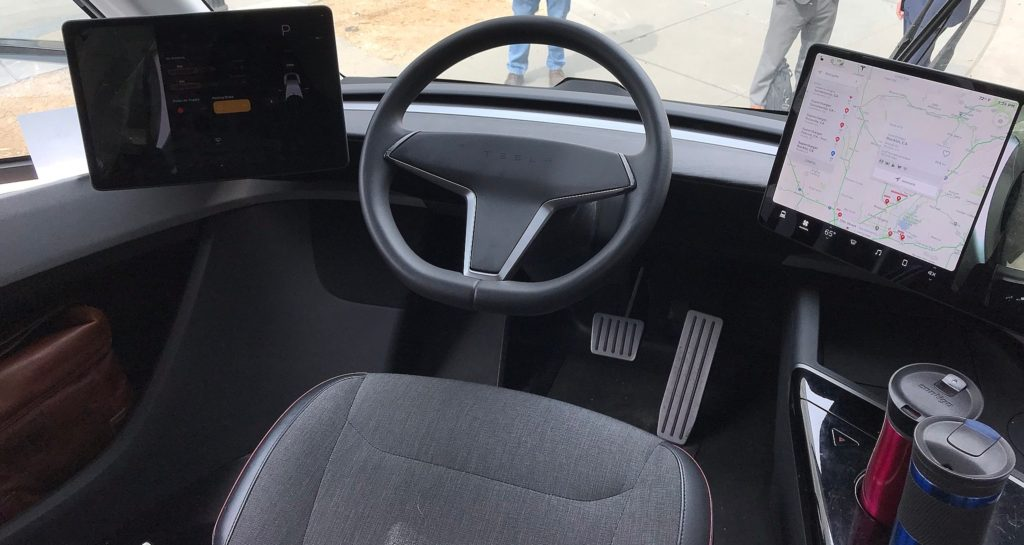 How does the tesla model s compare to the tesla model s plaid? Tesla Semi cockpit details revealed in clearest interior