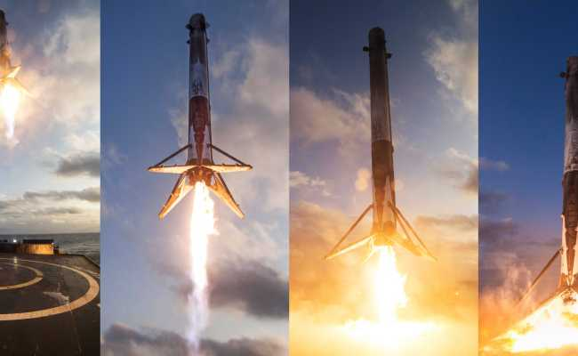 Spacex Ses Announce New Falcon 9 Launch Contracts For