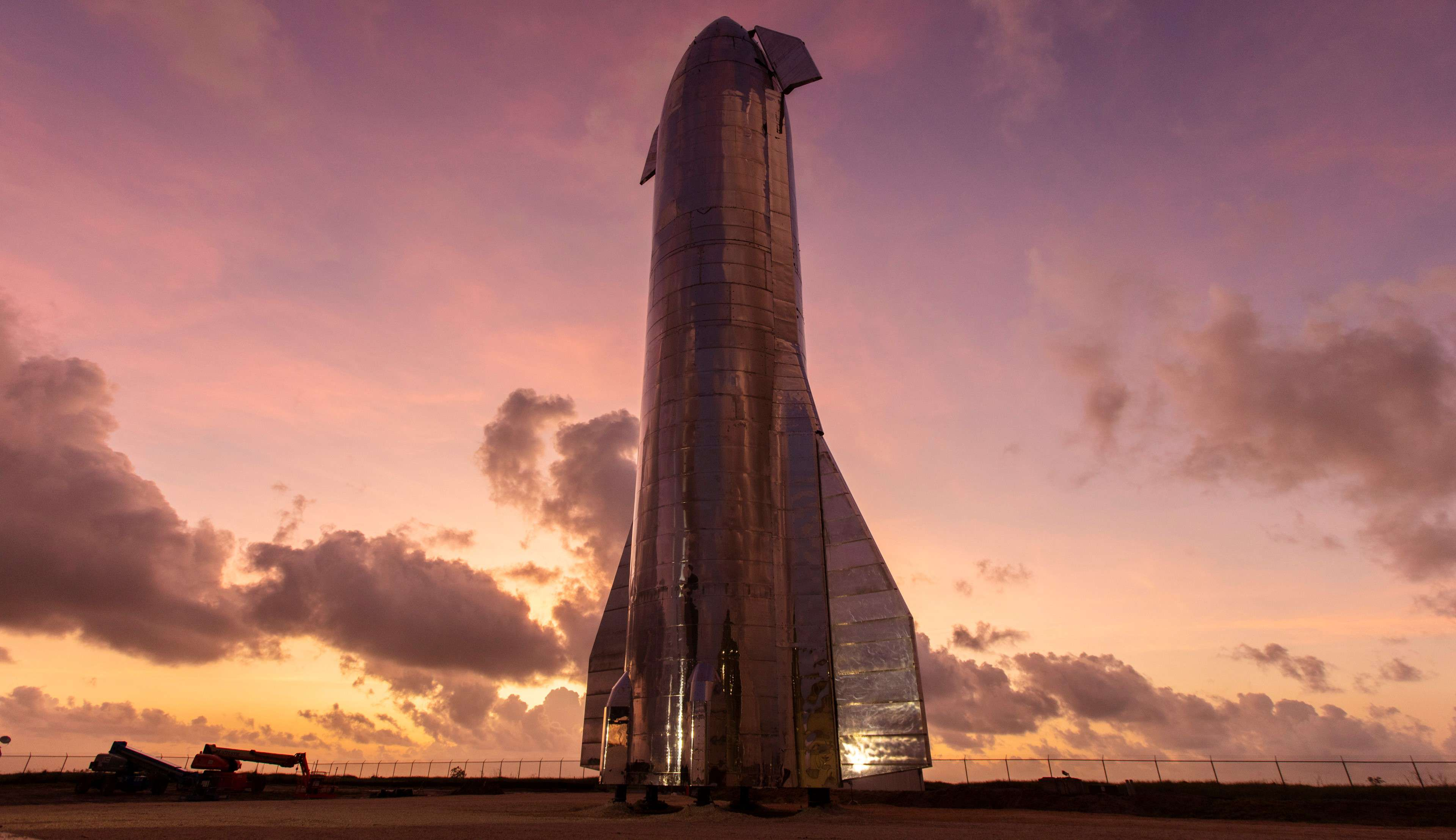 Now, a video shows that construction for the facili. SpaceX Mars landing expert talks Starship recovery