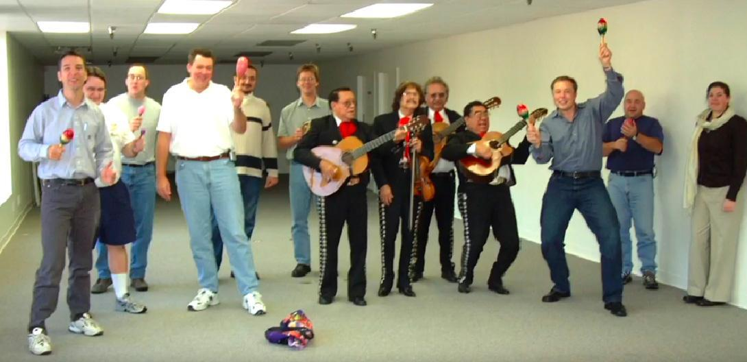 elon musk mariachi band - TESLARATI