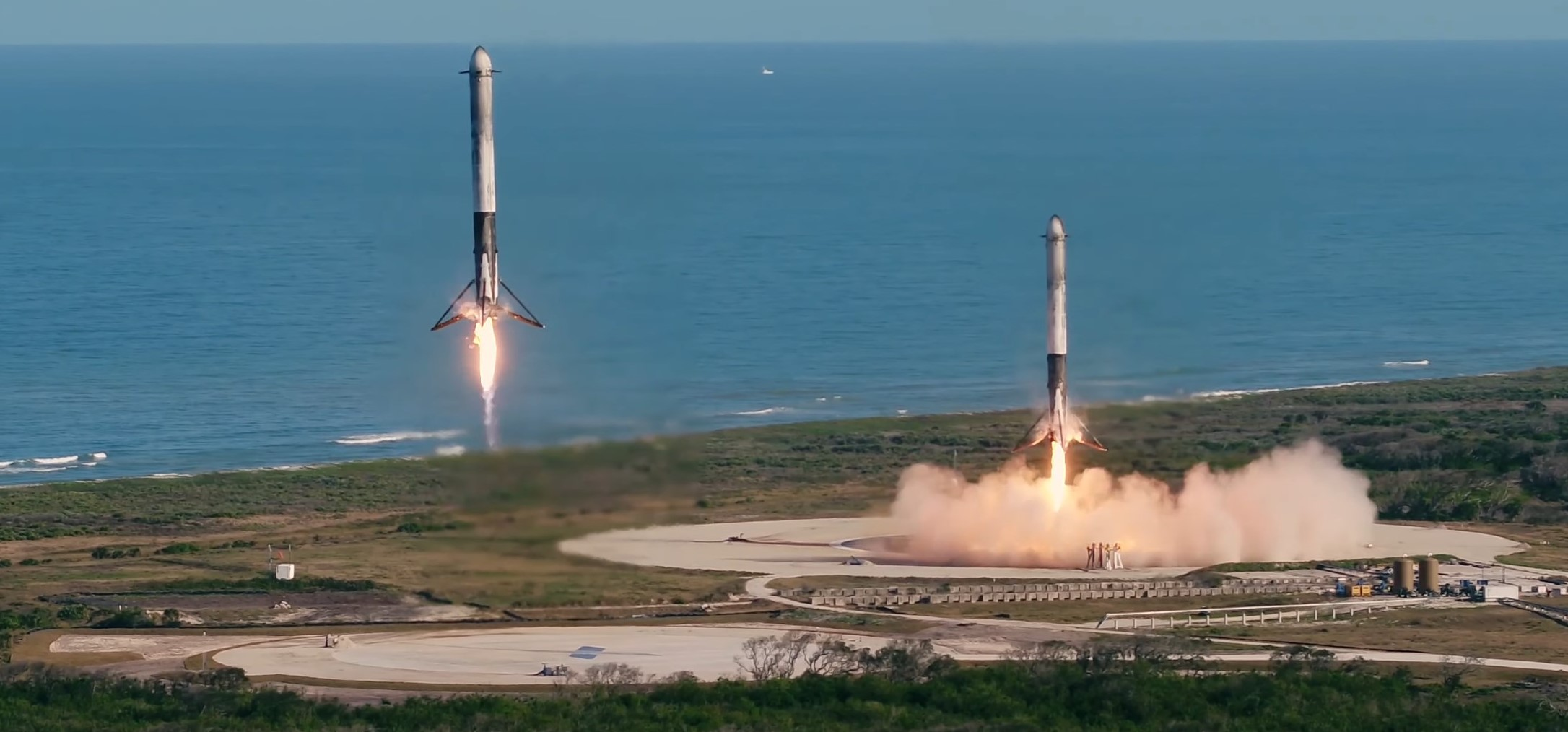 Spacex Celebrates Historic Rocket Landings With New 4k Footage