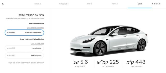Tesla Launches Model 3 In Israel With Surprisingly Aggressive Pricing