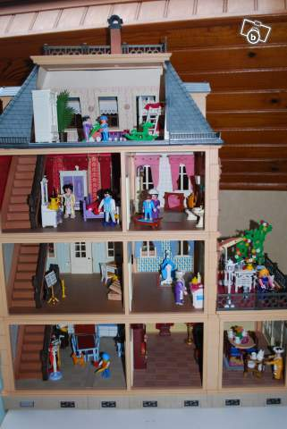 Maison victorienne Playmobil collection