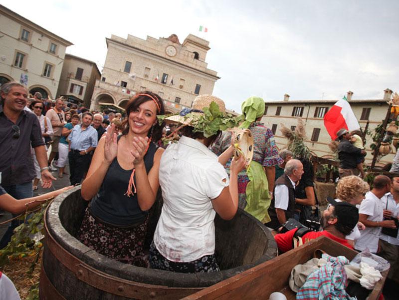 Torna la Festa della Vendemmia, il tradizionale appuntamento della terra del Sagrantino