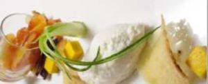 Ricotta e insalata d'inverno