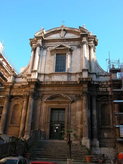 Chiesa di San Nicola da Tolentino a Roma foto e storia