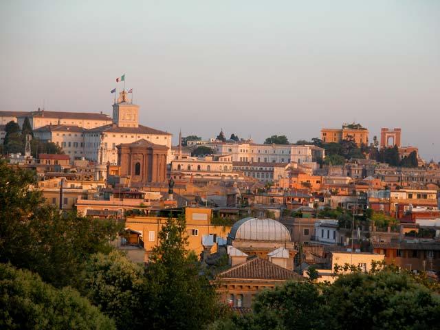 Panorami dal Pincio a Roma foto