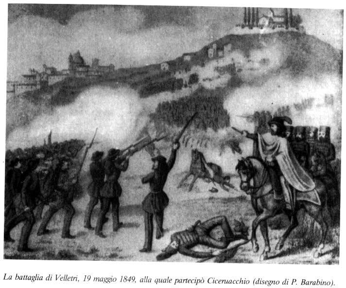 LA REPUBBLICA ROMANA 19 maggio 1849 la battaglia di Velletri