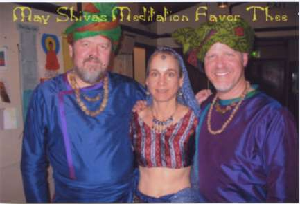 (L-R) Ed Dunsavage, Tessa Brinckman, Terry Longshore costumed for The Clay Cart production at Oregon Shakespeare Festival, 2008