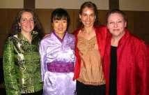 Ensemble East West 2006 (L-R) Vicki Gunn, Mitsuki Dazai, Tessa Brinckman, Jenny Lindner