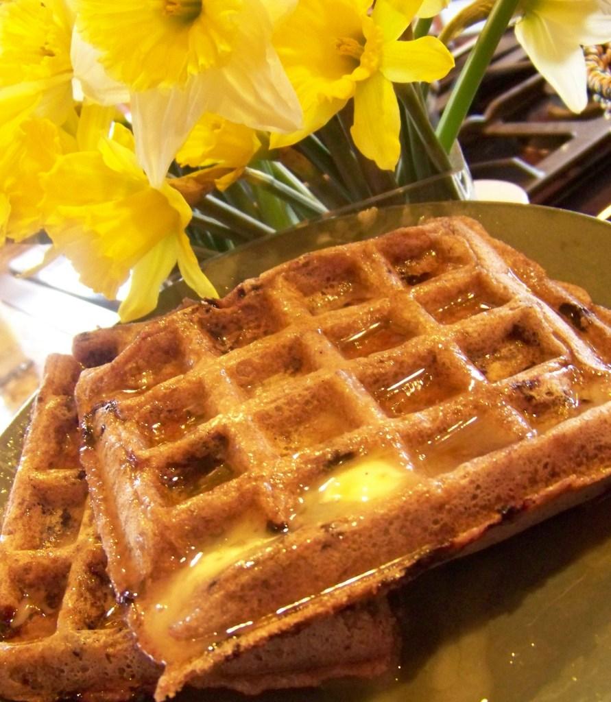 Wholegrain Waffles - Gluten Free & Vegan aka Wowwy Waffles