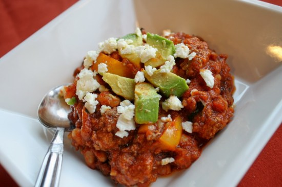 Easy Chili - Paleo/Vegan Options