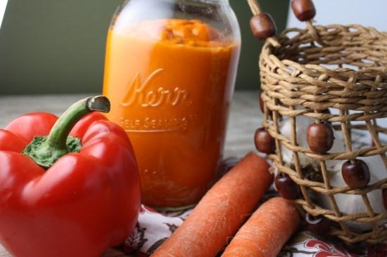 Paleo Blender Roasted Vegetable Pasta Sauce