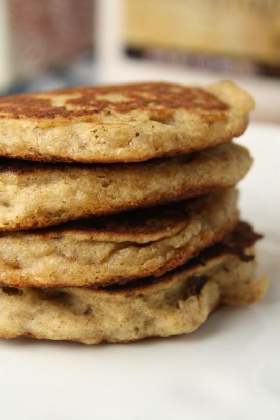 Wholegrain Pancakes - Gluten Free & Vegan