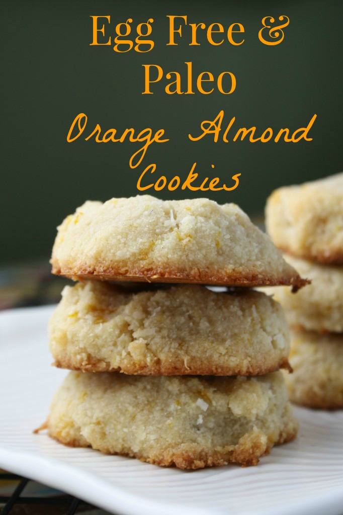 Orange Almond Cookies - #PALEO & #VEGAN #lowcarb