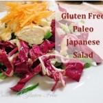 Gluten Free Paleo Japanese Salad
