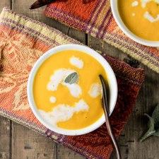 Creamy Paleo Pumpkin Soup – Dairy Free