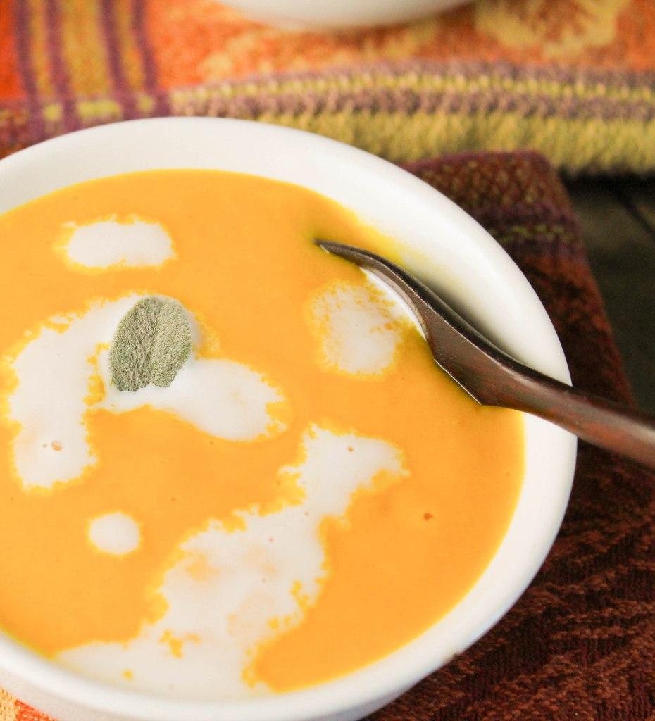 Creamy Pumpkin Soup- Dairy Free & Paleo