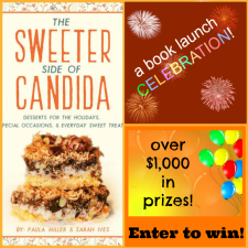 giveaway portion is now over)The Sweeter Side of Candida Launch