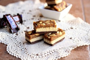 Snicker Bars w/ Paleo Opt