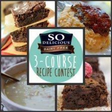 So Delicious Dairy Free 3 Course Recipe Contest