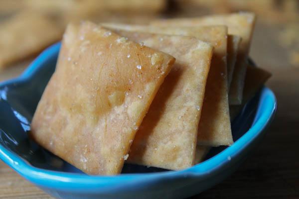 Brown Rice ' Wheat' Thins - GLuten Free & Vegan-6886