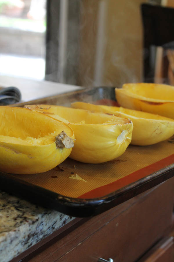 How to Roast a Spaghetti Squash - Perfectly-6850