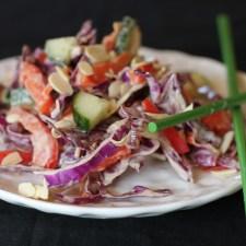 Paleo Thai Cabbage Salad
