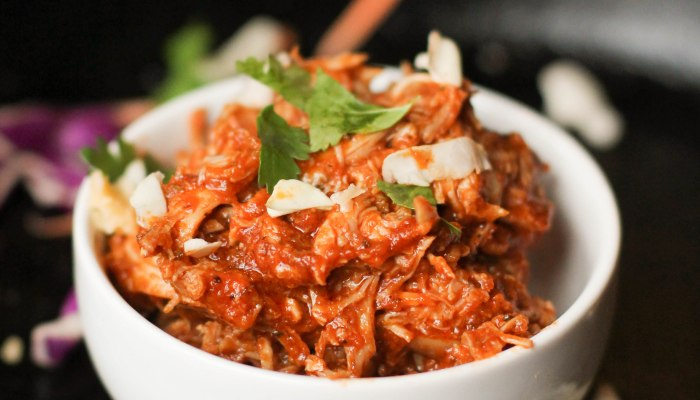 Paleo Instant Pot Chicken Tinga