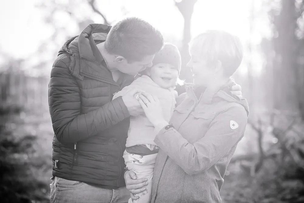 Familienshooting im Februar – Familienfotografie in Erfurt