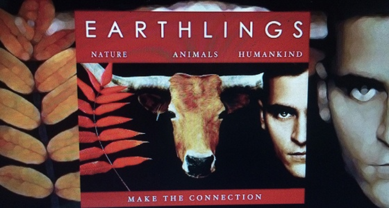 """Earthlings"", a documentary narrated by vegan Joaquin Phoenix"