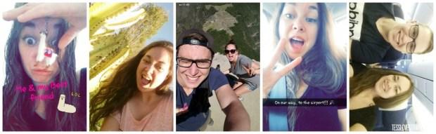 snapchat selfies