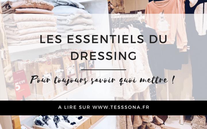 les essentiels du dressing
