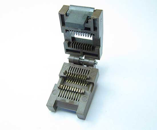Test Sockets for Component Burnin SOP DIP QFN QFP