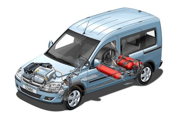 Instalacja CNG Opel Combo