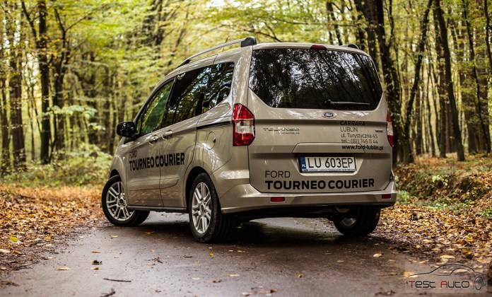Ford Tourneo Courier fot. Piotr Majka