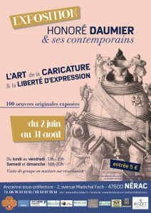 Exposition Honoré Daumier & ses contemporains