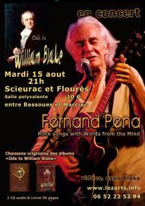 Fernand Pena en concert