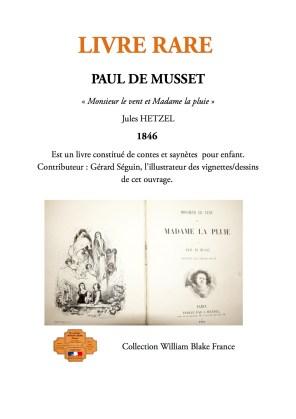 LIVRES RARES Paul de MUSSeT(2)