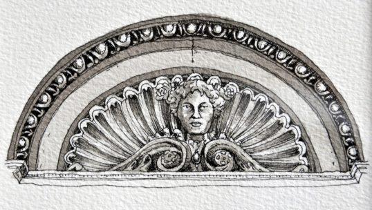 Détail architectural de maison victorienne à San Francisco