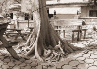 Thaïlande-Roots Wat-Phan On Tree-Chieng Mai