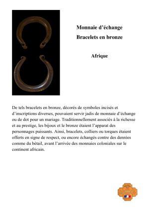 Bracelets en bronze