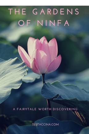 An ideal day trip from Rome, the Gardens of Ninfa is one of Italy's most beautiful parks. Read how to get to Ninfa, latest prices, and opening times. All about visiting Ninfa.