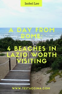 Getting to the beach from Rome isn't difficult - read on for four great day trips to the seaside from Rome.