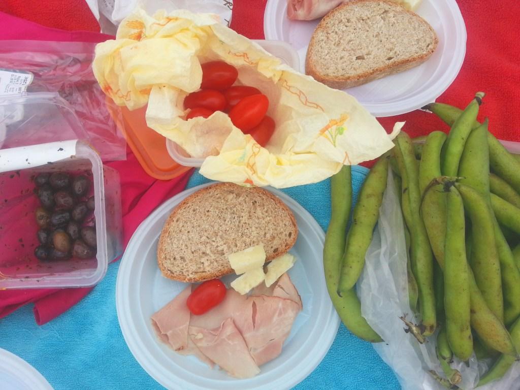 picnic in Rome Testaccina