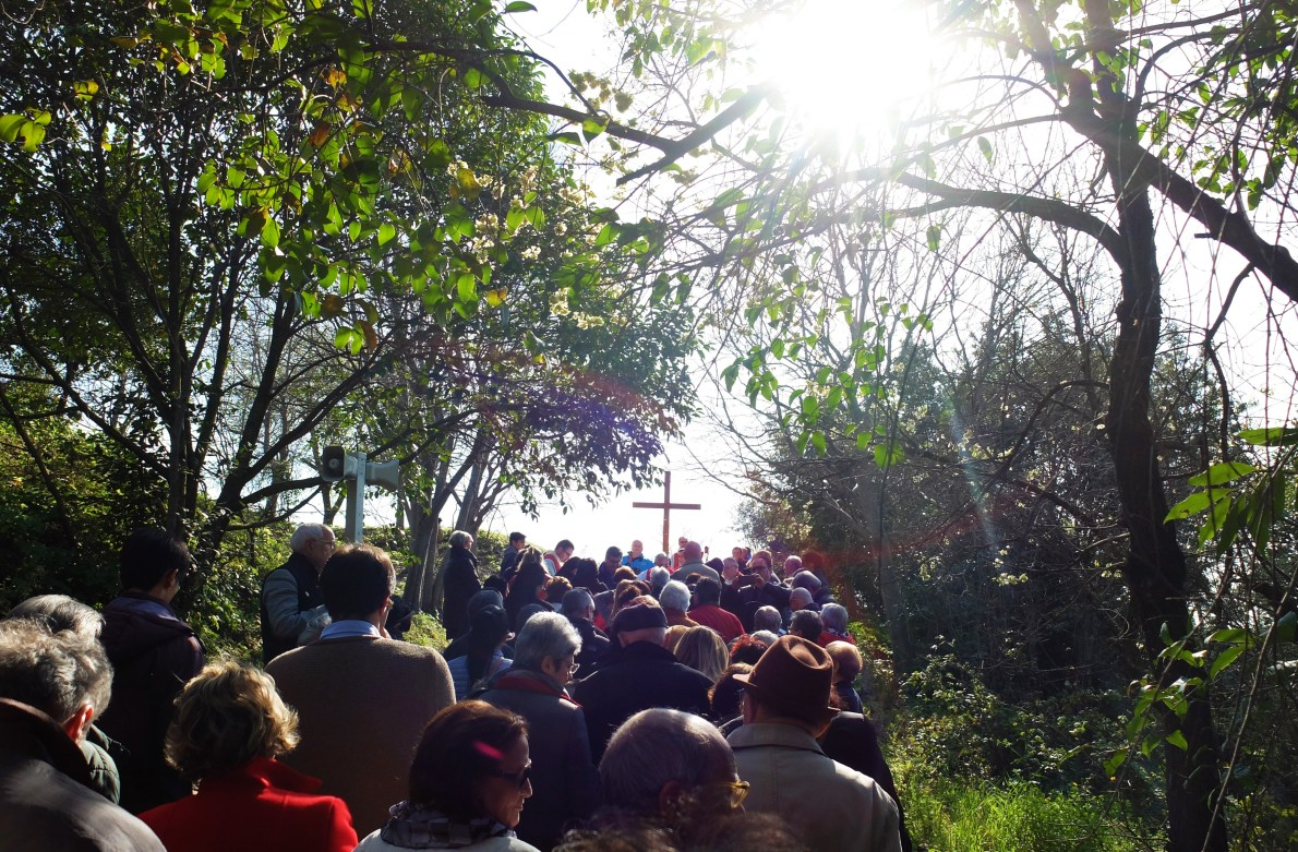 Easter in Rome involves a famous Via Crucis procession on Good Friday afternoon.To avoid the crowds, try the Via Crucis in the Testaccio district instead.