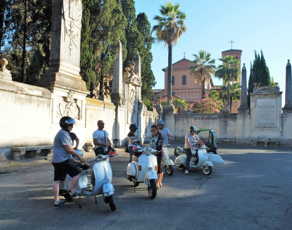 The ultimate guide to driving a scooter in Rome - including 50 tricks that only a Vespa driver in Rome would know.