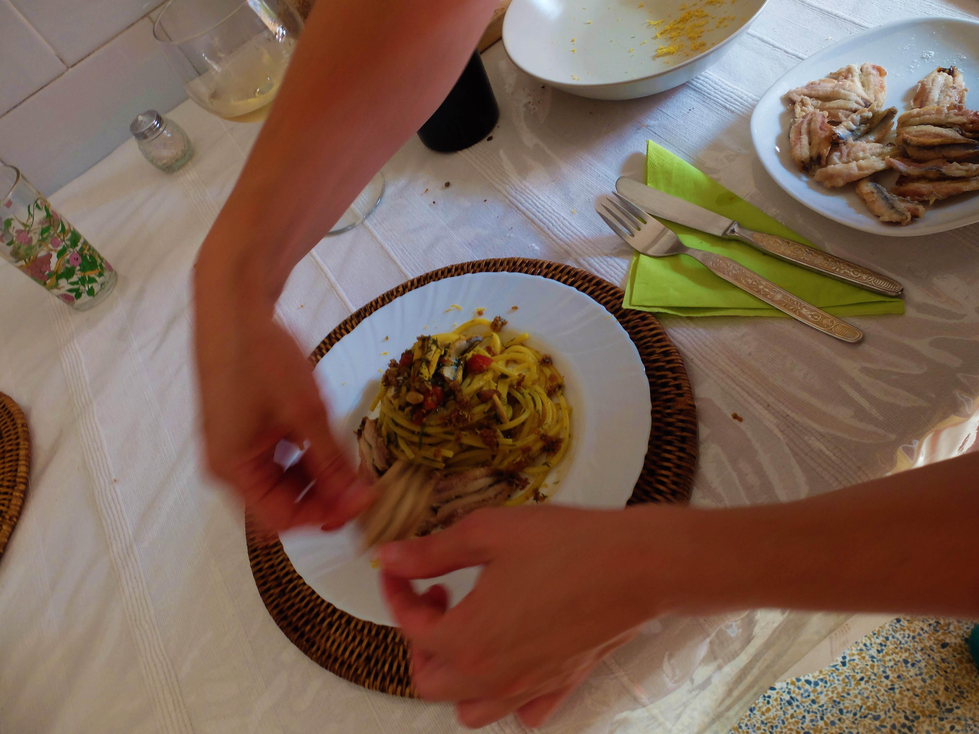 Italian traditions: a cooking class in colourful Garbatella, booked via BonAppetour